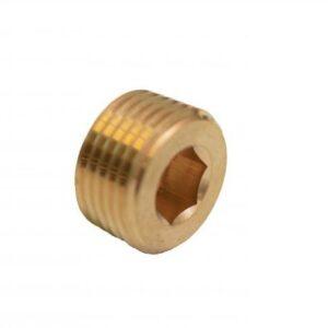 Brass Plug 3/8 NPT